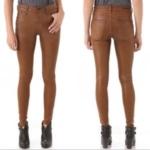 COH Leatherette High Rise Skinny Jeans